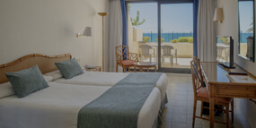 doubles rooms grand teguise playa hotel