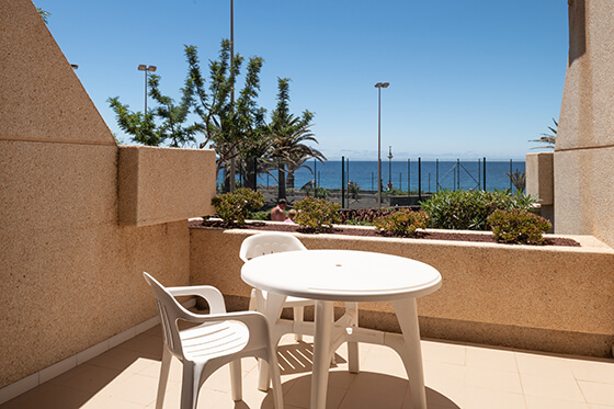 terrace double room hotel grand teguise playa
