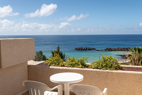 double room sea views views hotel grand teguise playa